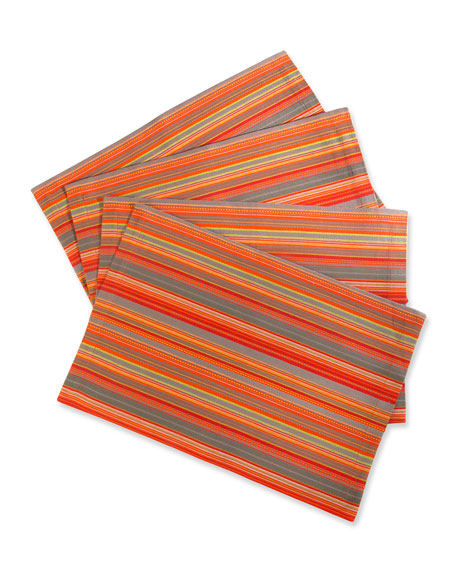MacKenzie-Childs Boheme Placemats, Set of 4
