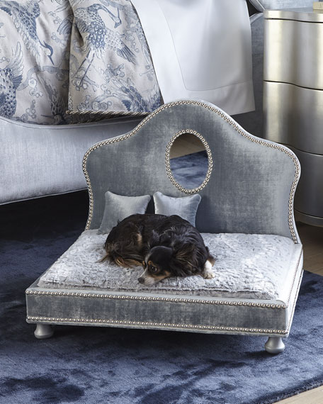 Lenor Pet Bed with Mirror Trim