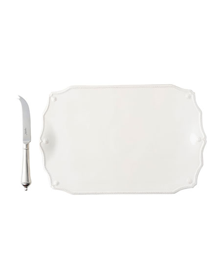 Juliska Berry and Thread Whitewash Serving Board with