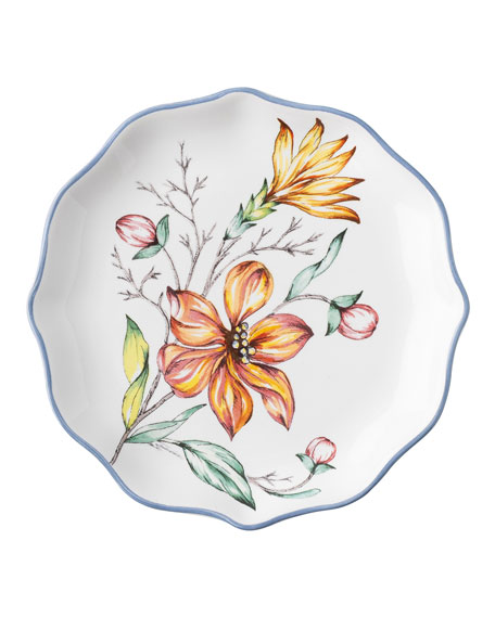 Floretta Tidbit Plates, Set of 4