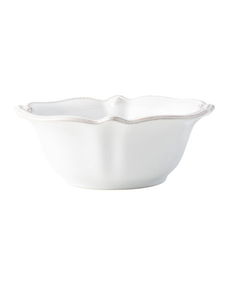 Juliska Berry and Thread Whitewash Cereal/Ice Cream Bowl