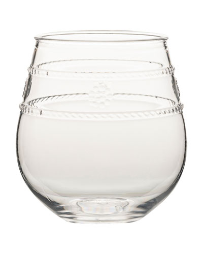 Isabella Acrylic Stemless Wine Glass