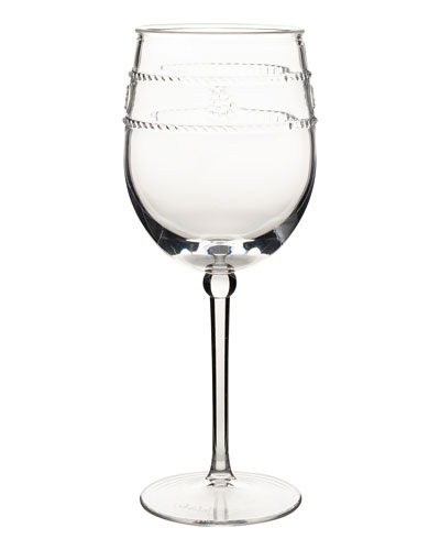Isabella Acrylic Wine Glass