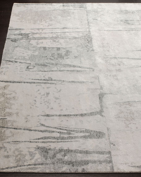 Meryl Hand-Knotted Area Rug, 6' x 9'