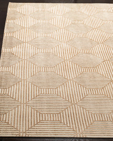 Connaught Hand-Knotted Area Rug, 9' x 12'