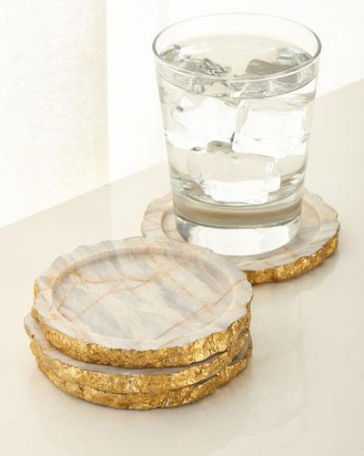 Century Marble Coasters  Set of 4