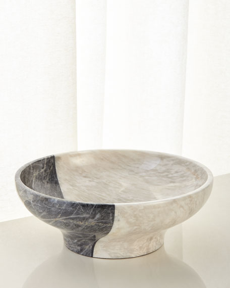 Offset Marble Bowl