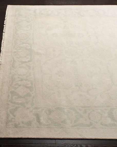 Montaigne Hand-Knotted Rug, 6' x 9'
