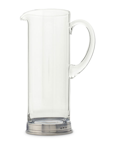 Martini Crystal Pitcher