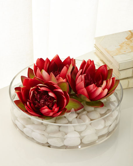 John-Richard Collection Enchanting Water Lilies