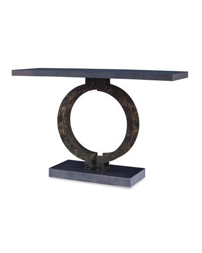 Benine Pedestal Console Table