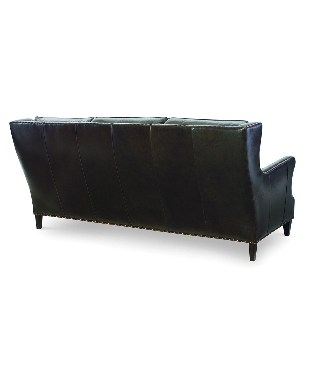 Century Furnitureavery Leather Sofa 85 Quot