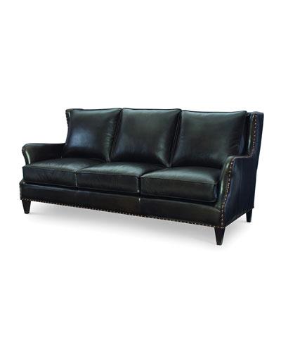 Avery Leather Sofa  85