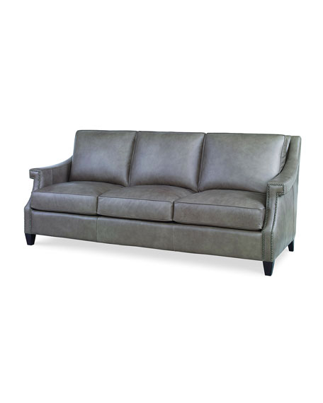 Ashten Leather Sofa, 82""
