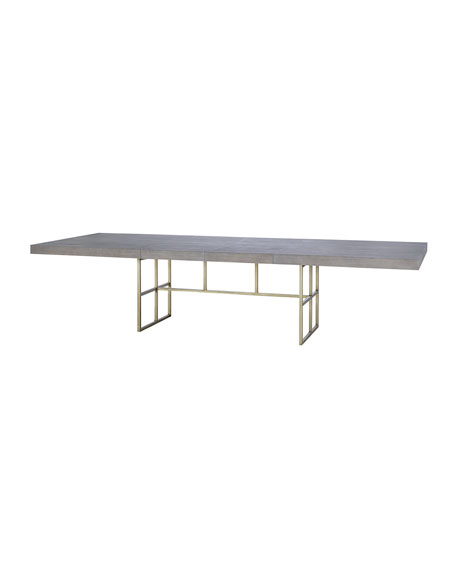 Kendall Metal Base Dining Table