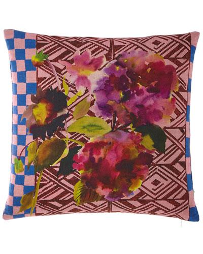 Jaipur Rose Pillow