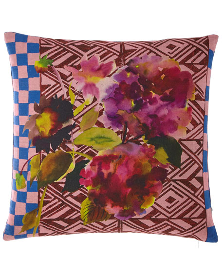 Jaipur Rose Pillow