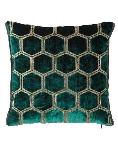 Manipur Azure Pillow