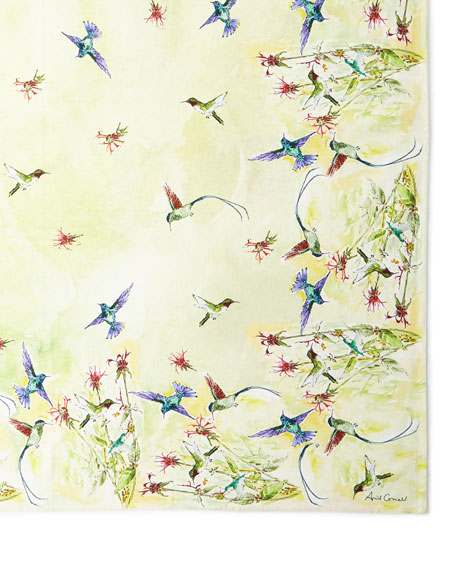 April Cornell Hummingbird Breakfast Cloth