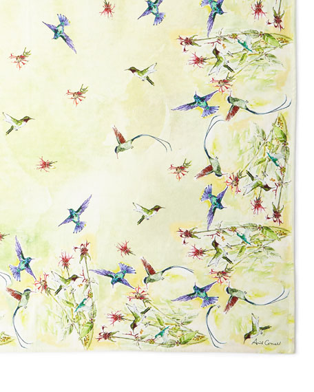 April Cornell Hummingbird Dining Cloth