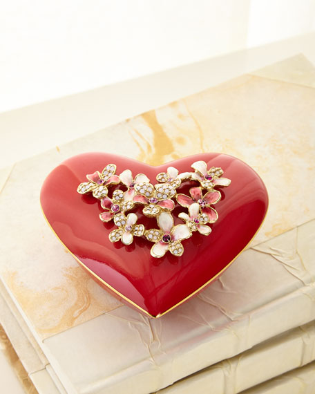Bouquet Heart Box