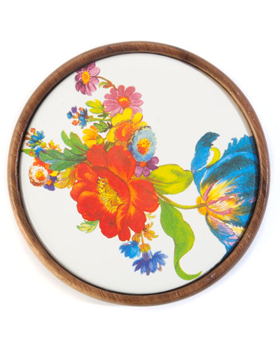 Flower Market Coasters  Set of 4