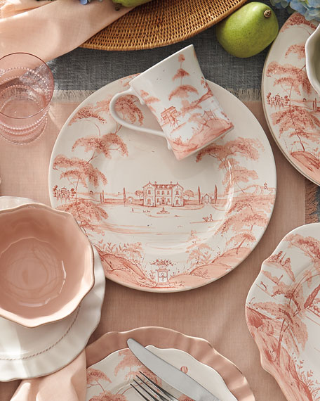 Country Estate Petal Pink Dinner Plate