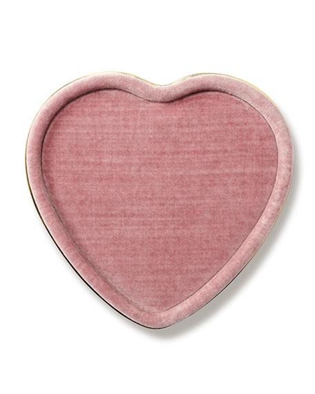 Valentina Velvet Heart Tray
