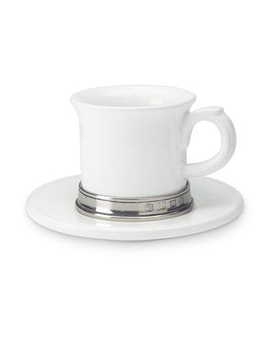 Convivio Espresso Cup with Saucer