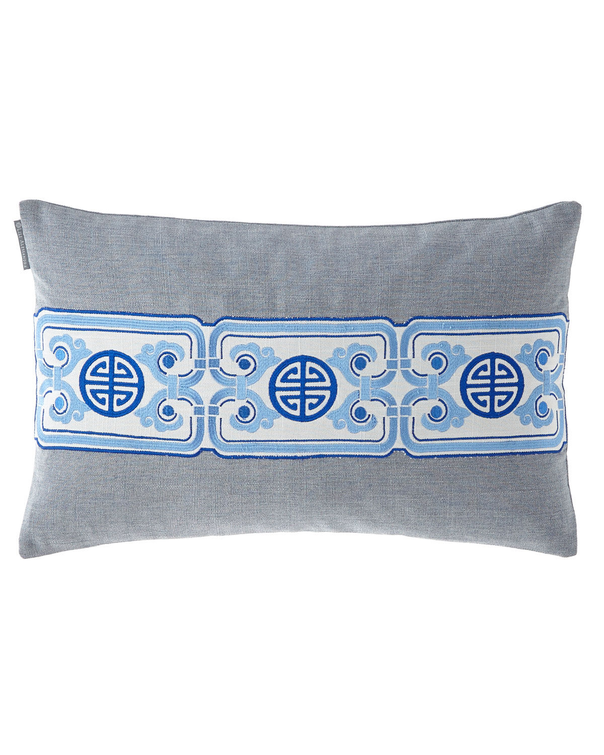 Lili Alessandra Oriental Chain Small Rectangle Pillow