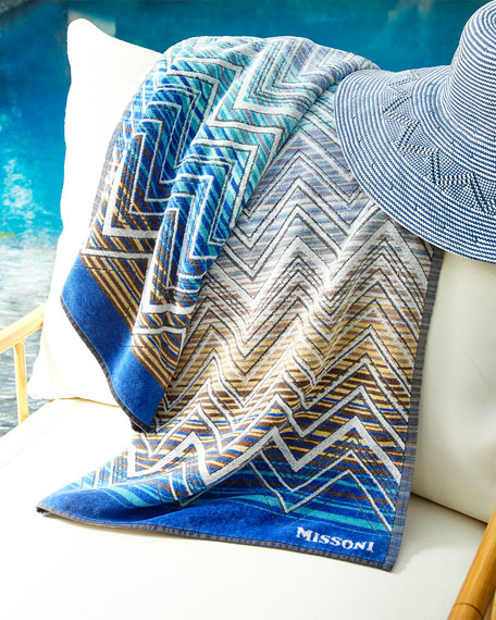 Missoni Home Tolomeo Beach Towel