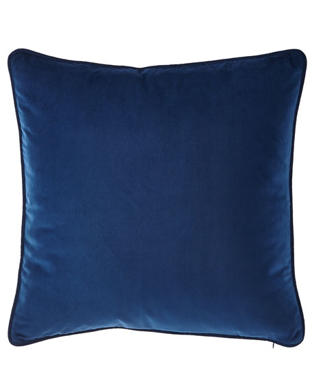 Imperial Toile Velvet Pillow