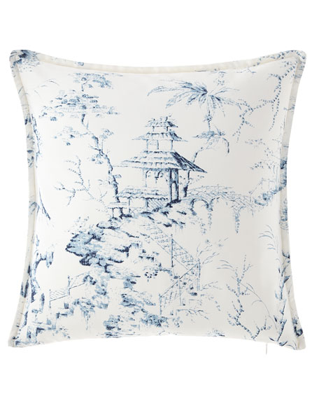 Imperial Toile Main Pillow