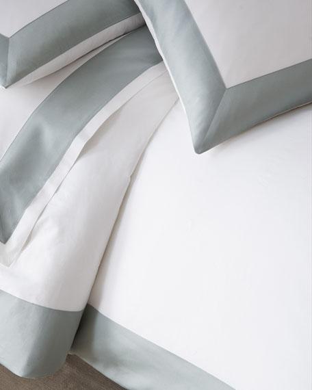 Modern Sateen Applique Full/Queen Duvet Cover