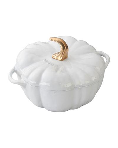 3.5-Qt. Pumpkin Cocotte  White