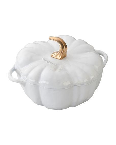 3.5-Qt. Pumpkin Cocotte, White