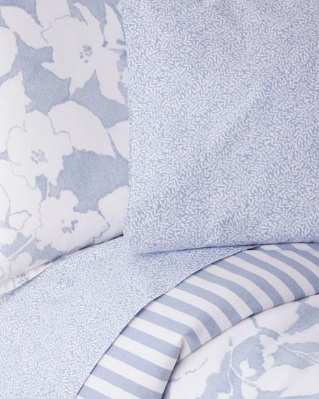 Willa Leaf King Pillowcase