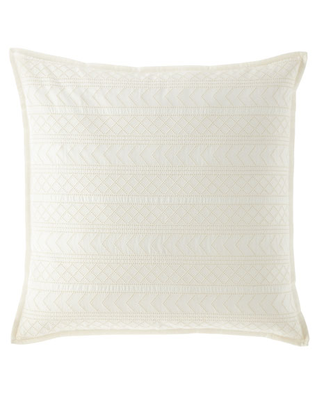 Decorative Woven European Sham