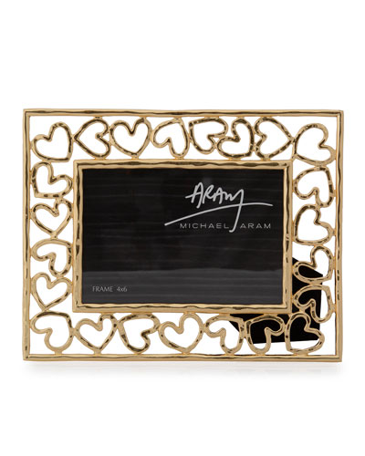 Heart Photo Frame  4 x 6
