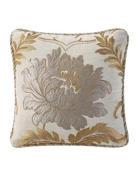 Ansonia Jacquard Decorative Pillow