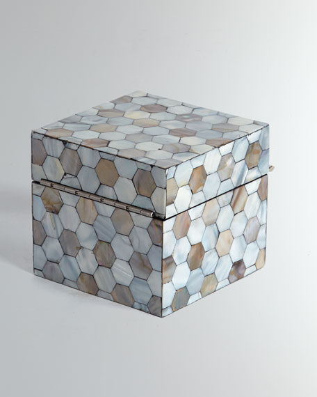 Small Mother-of-Pearl Box