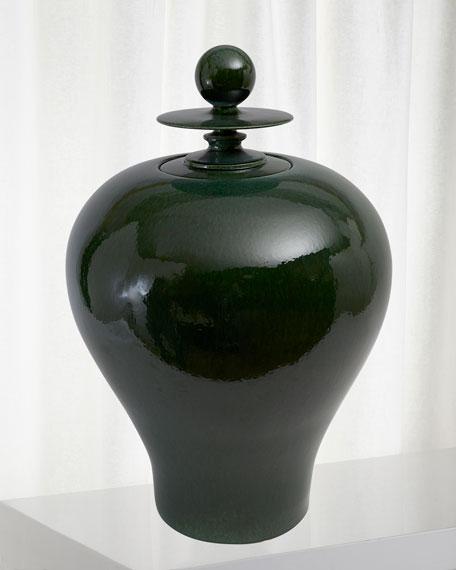 Happy Temple Jar
