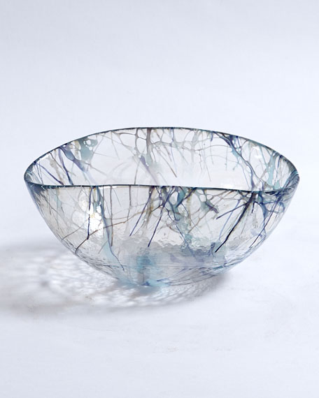 Small Blue Spark Bowl