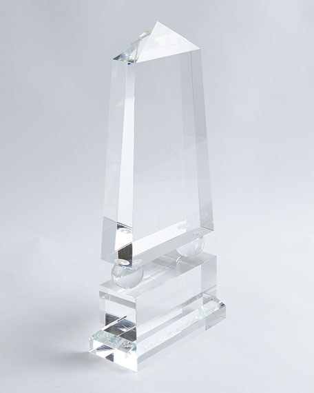 Wide Crystal Obelisk