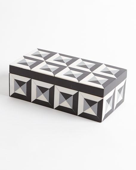 Deco Border Rectangle Box