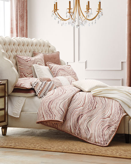 Madelena Wingback Queen Bed