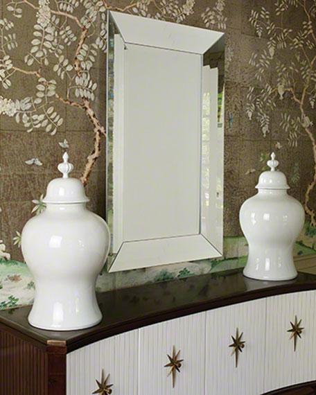 Large Adas Beveled Mirror