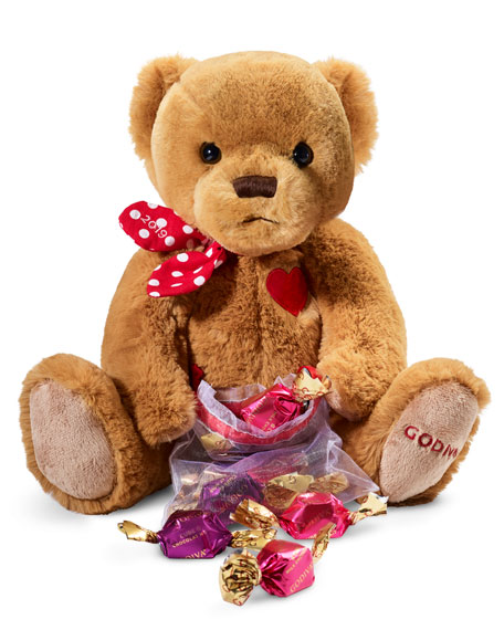 Godiva Chocolatier Limited Edition Plush Bear with G