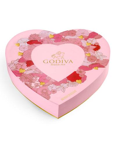 14-Piece Paper Heart Gift Box