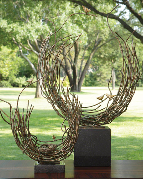Small Birds Nest Sculpture
